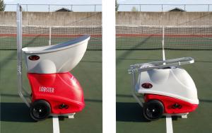 Lobster Elite Liberty Tennis Ball Machine Portability